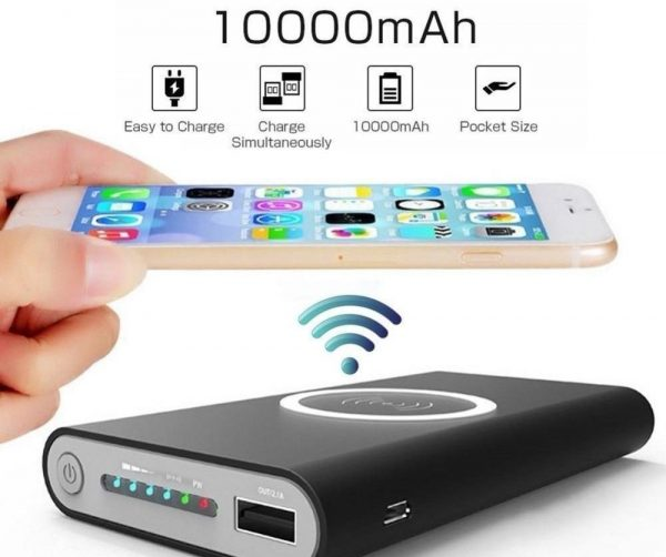 Wireless Powerbank Wireless Charger For iPhone 8 Samsung S6 S7 S8