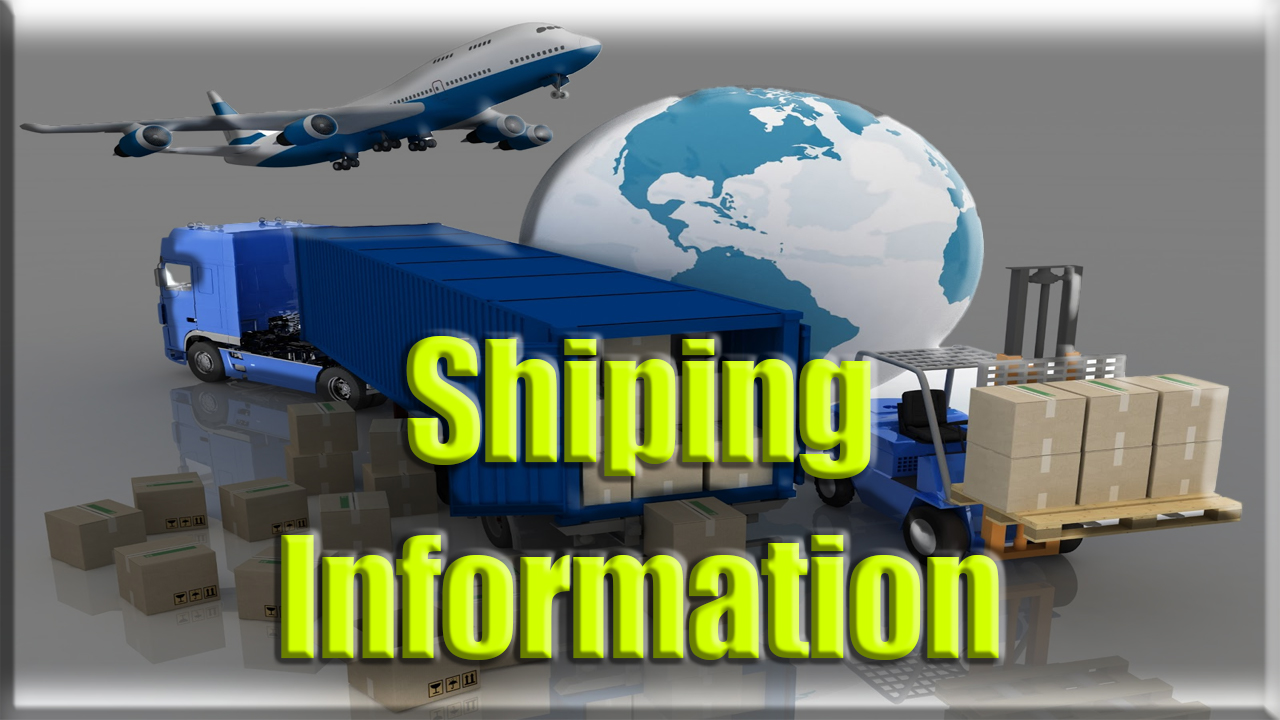 Husham.com shipping information